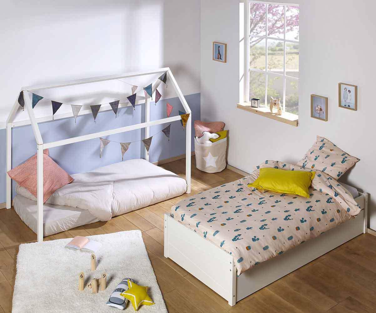 Full Size of Hausbett 100x200 Bett Betten Swam Mit Matratze Fr Kinderzimmer Weiß Wohnzimmer Hausbett 100x200