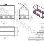 Hausbett 100x200 Diy Fr Bett Betten Weiß Wohnzimmer Hausbett 100x200
