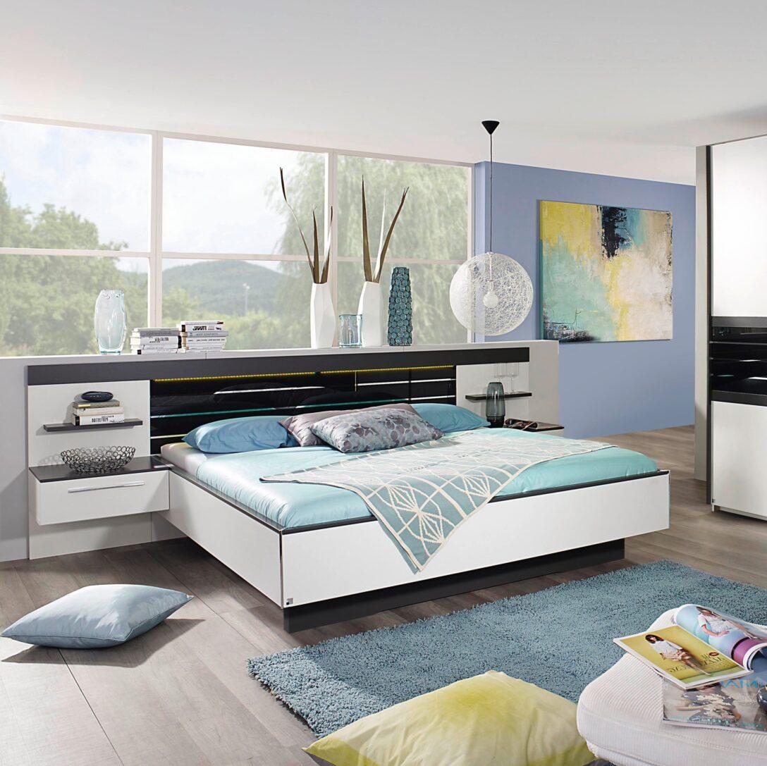 Large Size of Komplettbett 180x220 Komfortbett 180 220 Coleen Von Rauch Steffen Weiss Matt Graphit Bett Wohnzimmer Komplettbett 180x220