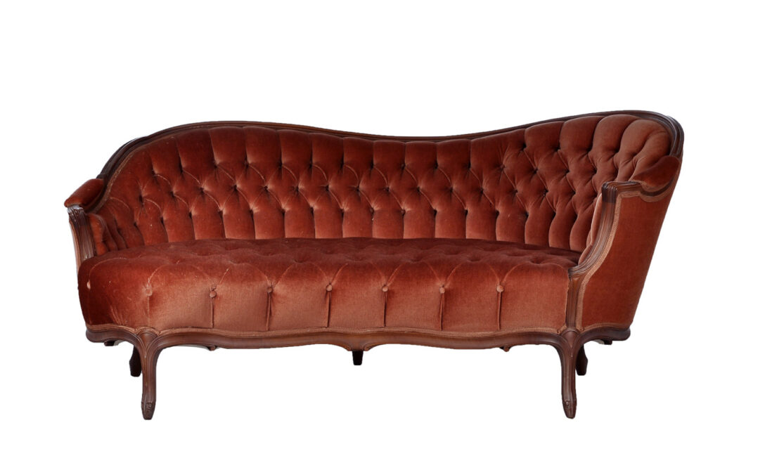 Large Size of Recamiere Barock Chaiselongue Boudoir Diplomatie Rot Stil Holz Nubaum Und Polsterung In Altrosa Sofa Mit Bett Wohnzimmer Recamiere Barock