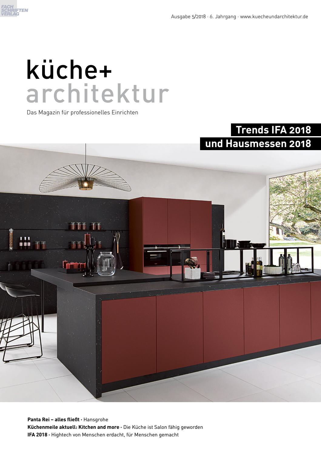 Full Size of Valcucine Küchen Abverkauf Kche Architektur 5 2018 By Fachschriften Verlag Inselküche Bad Regal Wohnzimmer Valcucine Küchen Abverkauf