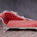 Recamiere Barock Moda Rot Silber Sofas Bett Sofa Mit Wohnzimmer Recamiere Barock