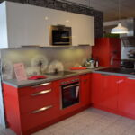 Häcker Müllsystem Hcker L Kche Neo Rot Glnzend Kchen Gnstig Kaufen Küche Wohnzimmer Häcker Müllsystem