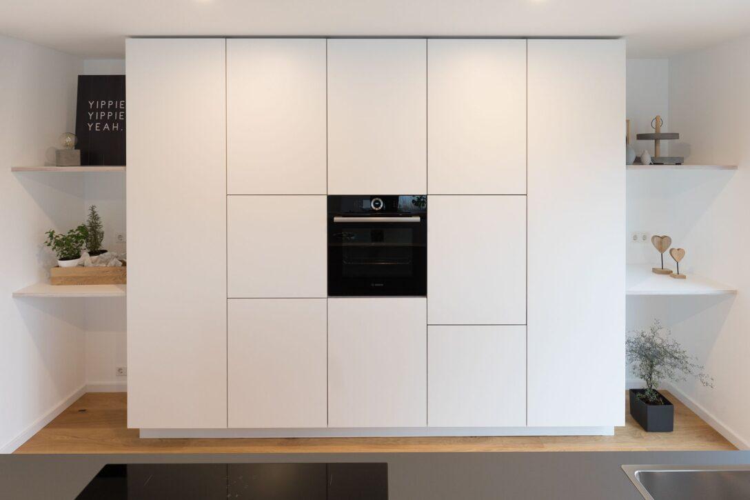 Large Size of Splmaschine Grifflose Kche Wei Hcker Mit Insel Ikea Müllsystem Küche Wohnzimmer Häcker Müllsystem