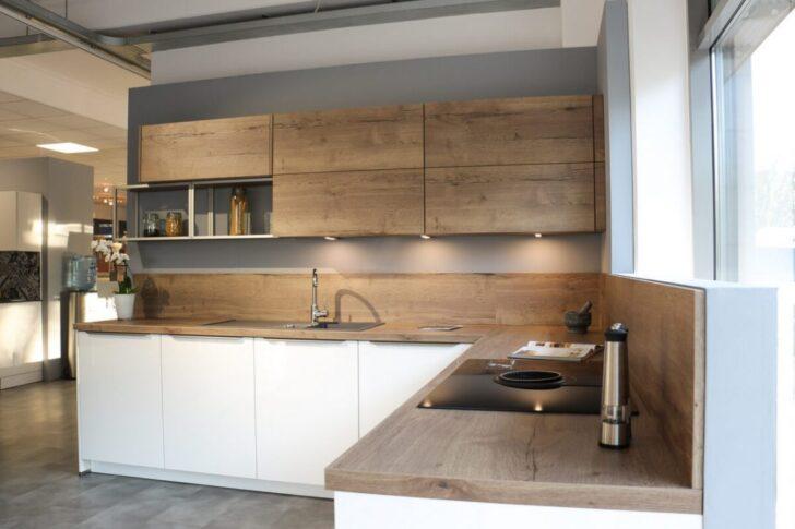 Medium Size of Nobilia Alba Kche Touch 876 Wei Matt Betongrau Wandsticker Mit Küche Einbauküche Wohnzimmer Nobilia Alba