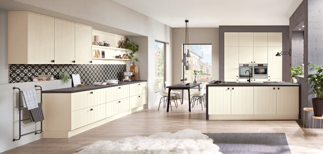 Nobilia Preisliste Kchen Fronten Flair 424 Magnolia Matt Moderner Landhaus Küche Einbauküche