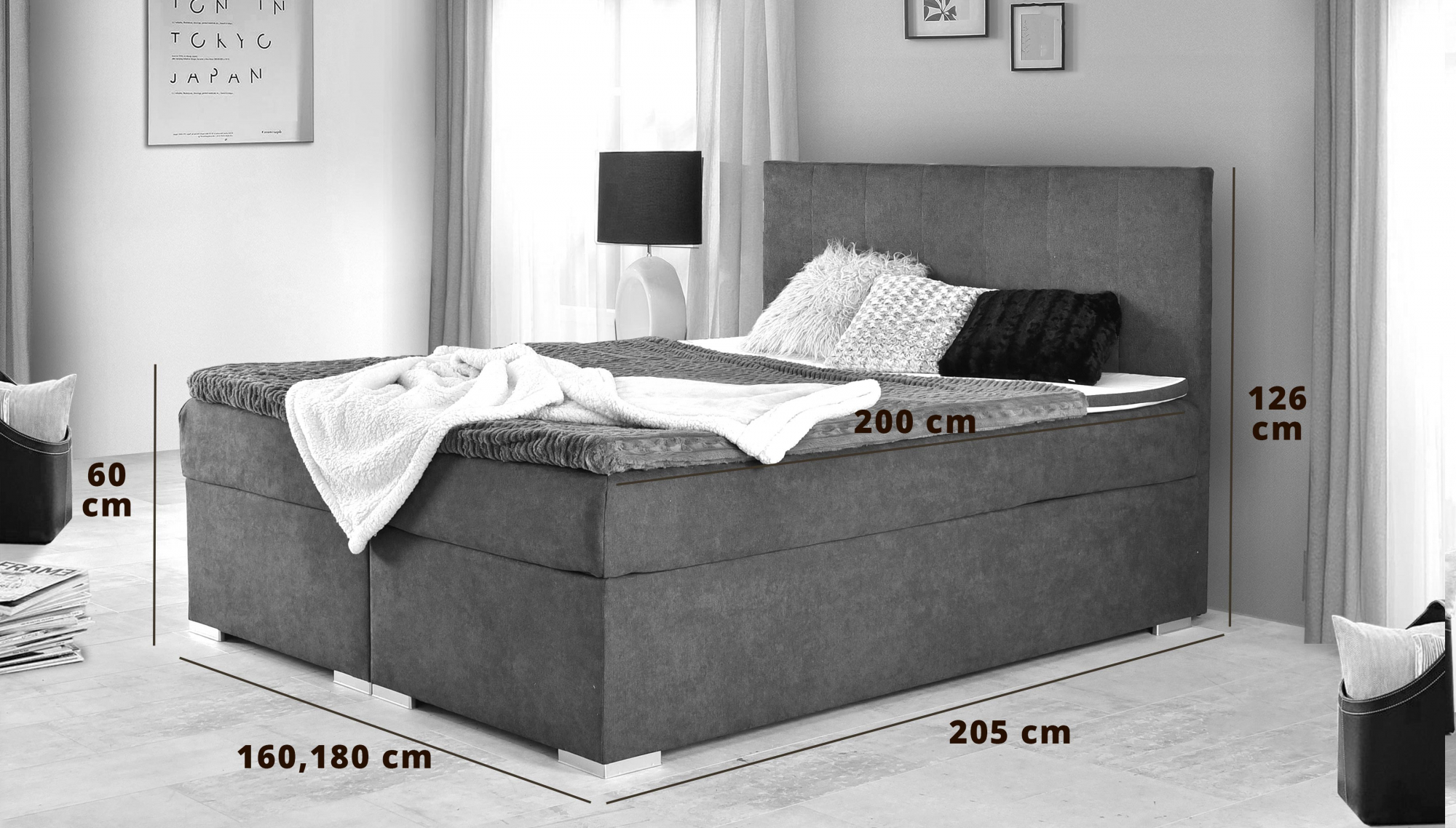 Full Size of Boxspring Postelje Forum Postelja 140x200 160x200 Akcija Harvey Norman Betten Bett Sofa Mit Schlaffunktion Landhausstil Hülsta Selber Bauen Schlafzimmer Set Wohnzimmer Boxspring Postel