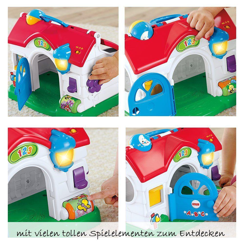 Full Size of Spielhaus Ausstellungsstück Fisher Hndchens Lernspa Babyartikelde Garten Holz Bett Kunststoff Kinderspielhaus Küche Wohnzimmer Spielhaus Ausstellungsstück