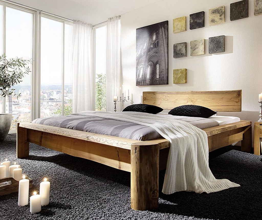 Full Size of Komplettbett 180x220 Massivholz Doppelbett Balkenbett Berlnge Unikat Antik Bett Wohnzimmer Komplettbett 180x220
