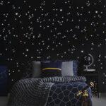 Starsleep Sternenhimmel Dekoration Ihr Mit Leuchtpigmente Fr Wohnzimmer Starsleep Sternenhimmel