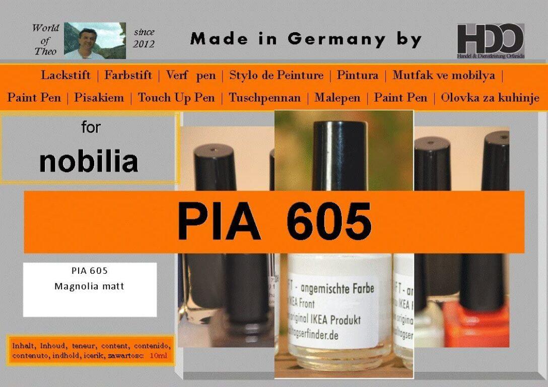 Large Size of Hdo Farbstift Lackstift Touch Up Pen For Nobilia Pia 605 Magnolia Küche Einbauküche Wohnzimmer Nobilia Alba