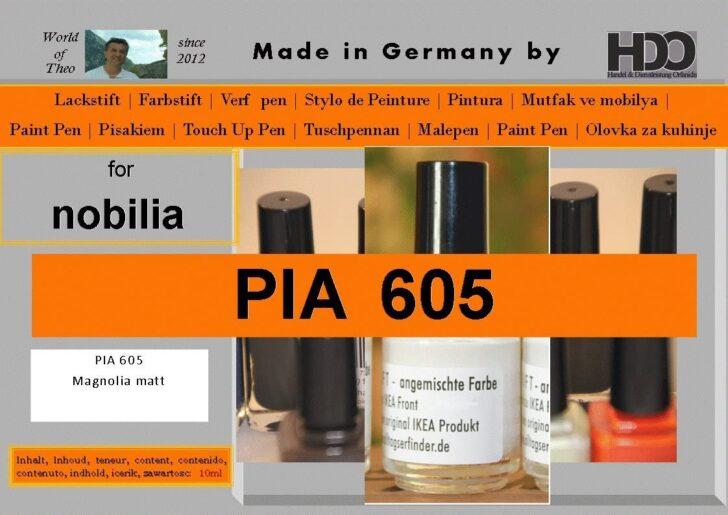 Medium Size of Hdo Farbstift Lackstift Touch Up Pen For Nobilia Pia 605 Magnolia Küche Einbauküche Wohnzimmer Nobilia Alba