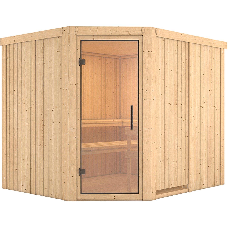 Full Size of Karibu Sauna Maarja Mit Glastr Kaufen Bei Obi Nobilia Küche Mobile Fenster Immobilienmakler Baden Einbauküche Regale Immobilien Bad Homburg Wohnzimmer Saunaholz Obi