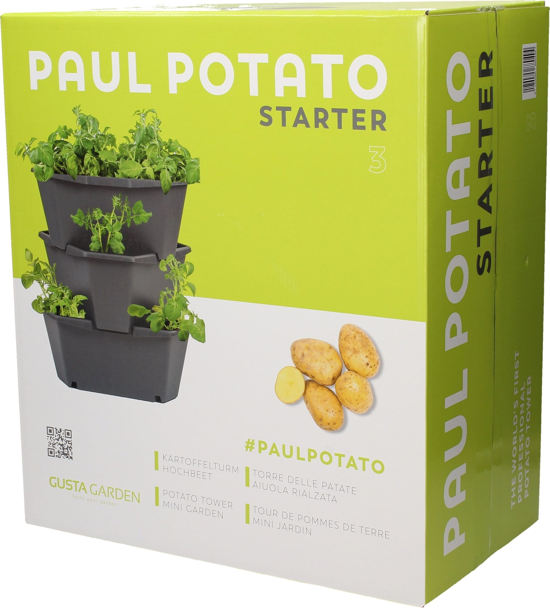 Full Size of Gusta Garden Paul Potato Starter 3 Etagen From Austria Wohnzimmer Paul Potato Kartoffelturm Erfahrungen