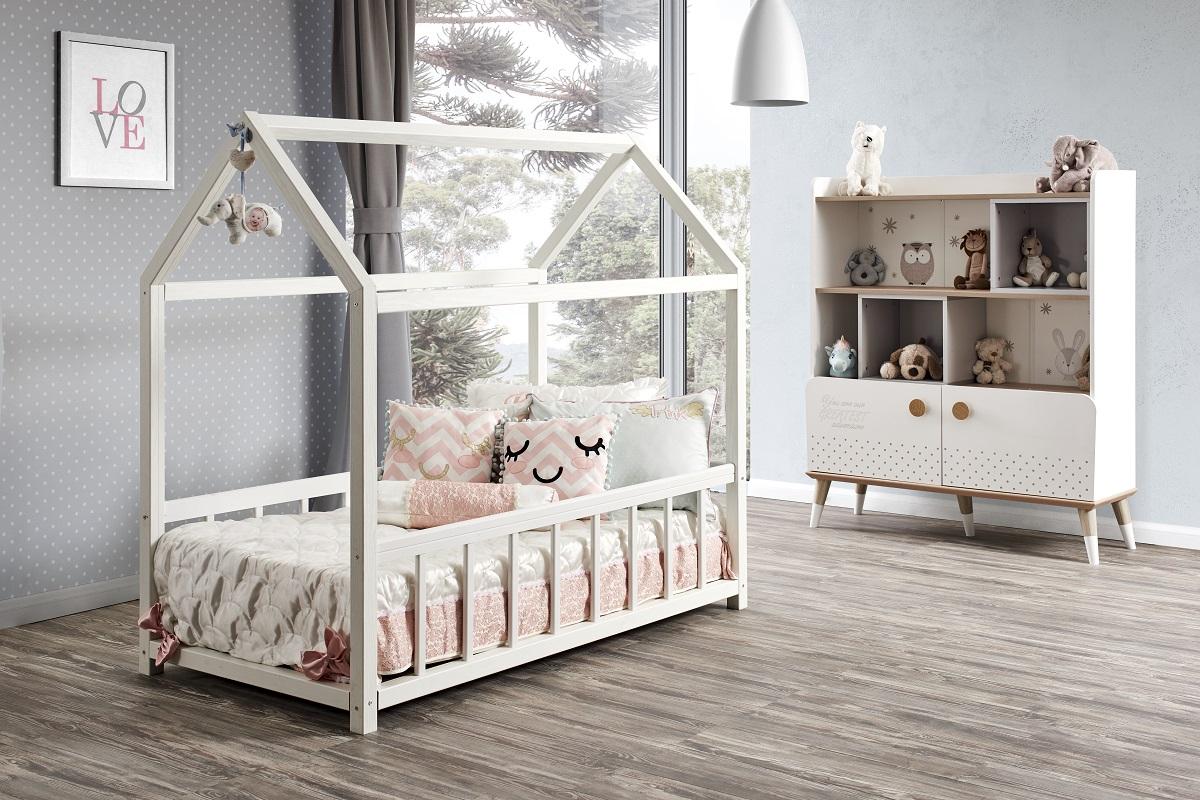 Full Size of Hausbett 100x200 Zoo Life Montessori Online Furnart Bett Betten Weiß Wohnzimmer Hausbett 100x200