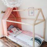 Hausbett 100x200 Wohnzimmer Hausbett 100x200 Endlich Durchschlafen Diy Fr Nach Montessori Bett Weiß Betten