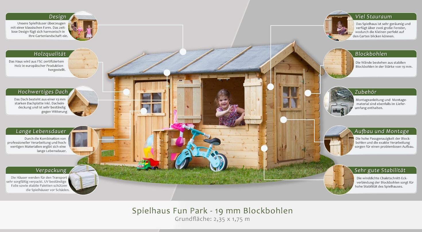 Full Size of Spielhaus Ausstellungsstück Fun Park 2 Garten Holz Kunststoff Bett Kinderspielhaus Küche Wohnzimmer Spielhaus Ausstellungsstück