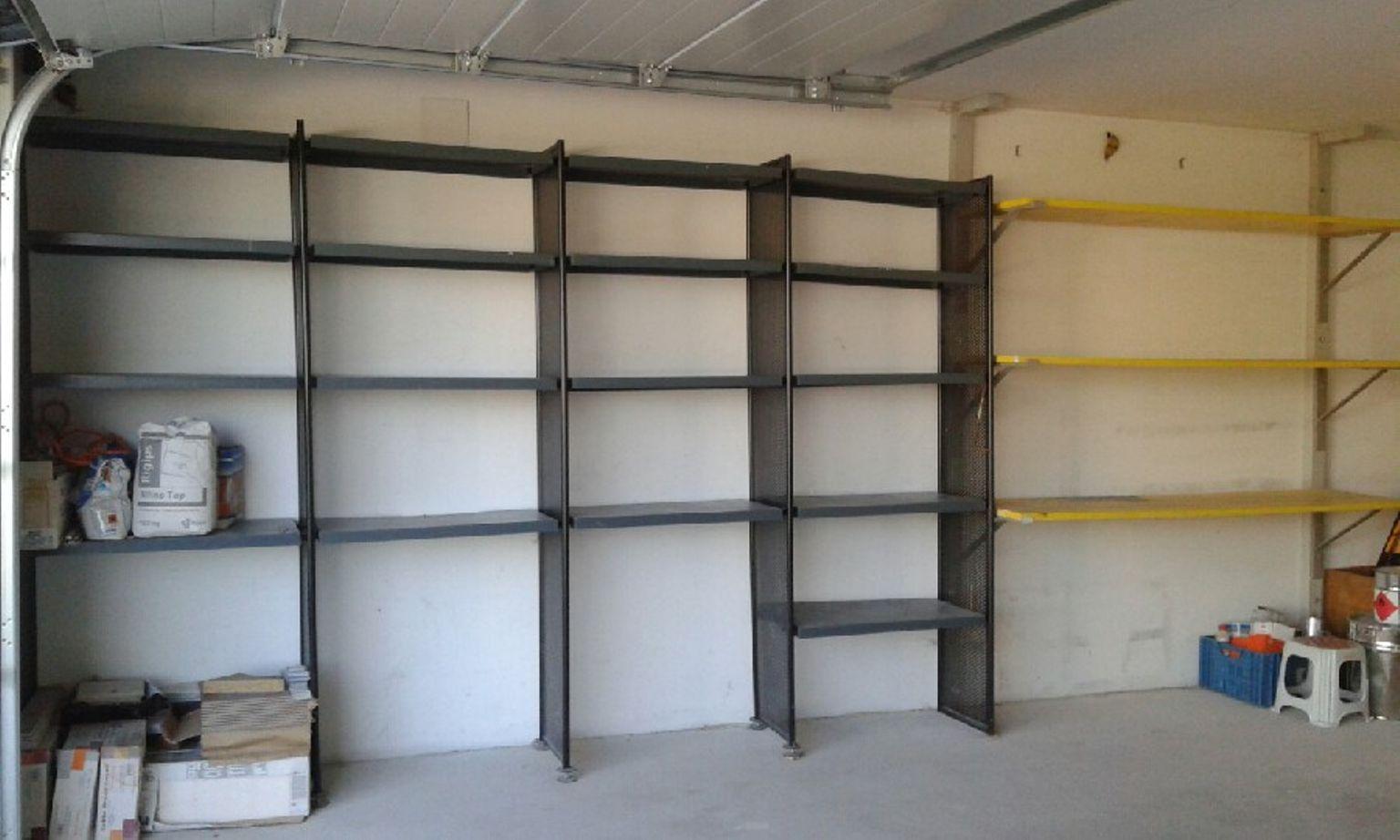 Full Size of Regale Keller Metall Regalsysteme Ikea Regalsystem Vorratsraum Und Garage Blech Regal Weiß Bett Für Wohnzimmer Regalsystem Keller Metall