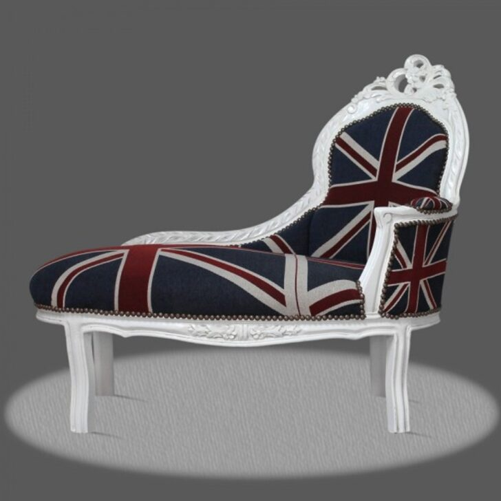 Medium Size of Recamiere Barock Casa Padrino Chaiselongue Union Jack Wei Sofa Bett Mit Wohnzimmer Recamiere Barock