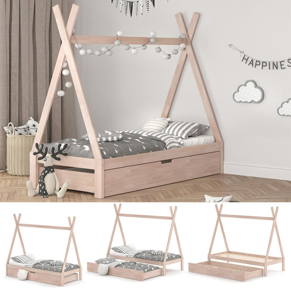 Large Size of Bett 90x200 Kinder Vitalispa Kinderbett Tipi Hausbett Natur Real Lifetime Ebay Betten Kleinkind Massiv 180x200 Mit Stauraum Hülsta Weiß Modernes Kopfteil De Wohnzimmer Bett 90x200 Kinder