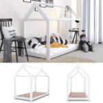Hausbett 100x200 Betten Vitalispa Kinderbett Design 90x200cm Bett Weiß Wohnzimmer Hausbett 100x200