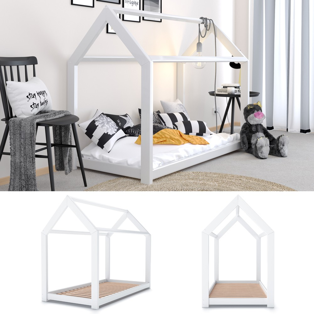 Full Size of Hausbett 100x200 Betten Vitalispa Kinderbett Design 90x200cm Bett Weiß Wohnzimmer Hausbett 100x200