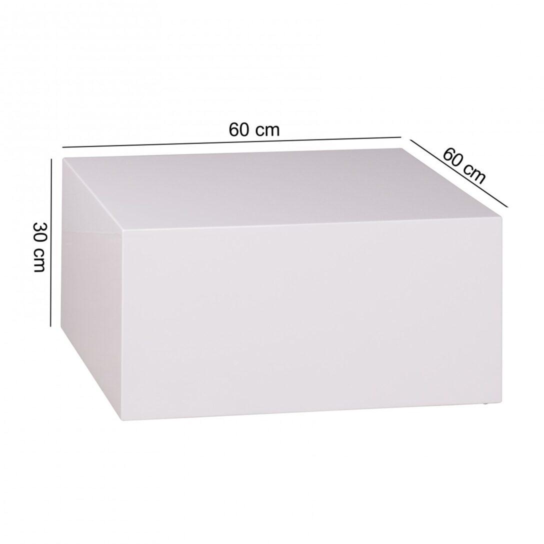 Large Size of Couchtisch Monobloc 60 30 Cm Hochglanz Mdf Wei Lackiert Regal Für Kleidung Weißes Sofa Zum Aufhängen Schlafzimmer Weißer Esstisch Metall Weiß Kleine Wohnzimmer Cube Regal Weiß Hochglanz