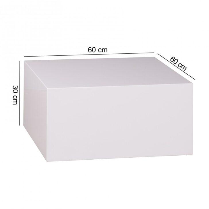 Medium Size of Couchtisch Monobloc 60 30 Cm Hochglanz Mdf Wei Lackiert Regal Für Kleidung Weißes Sofa Zum Aufhängen Schlafzimmer Weißer Esstisch Metall Weiß Kleine Wohnzimmer Cube Regal Weiß Hochglanz