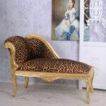Recamiere Barock Wohnzimmer Recamiere Barock Diplomatie Boudoir Chaiselongue Rot Bett Sofa Mit
