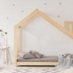 Kinderbett Dalidda Hausbett Mit Schornstein Bett 100x200 Betten Weiß Wohnzimmer Hausbett 100x200