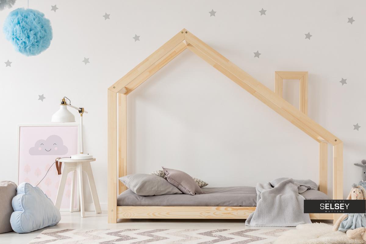 Full Size of Kinderbett Dalidda Hausbett Mit Schornstein Bett 100x200 Betten Weiß Wohnzimmer Hausbett 100x200