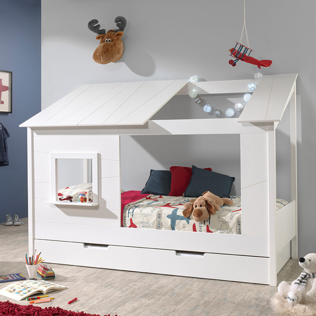 Large Size of Hausbett 90x200 Bett Weiß 100x200 Betten Wohnzimmer Hausbett 100x200