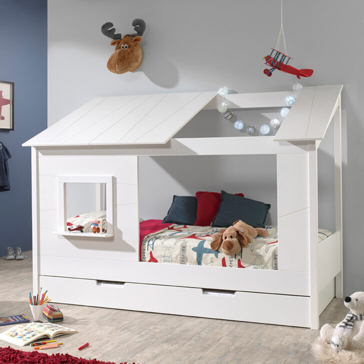Medium Size of Hausbett 90x200 Bett Weiß 100x200 Betten Wohnzimmer Hausbett 100x200