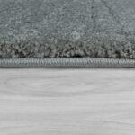 Teppich Waschbar Kurzflor Uni Silber Teppichmax Wohnzimmer Bad Teppiche Steinteppich Esstisch Küche Schlafzimmer Badezimmer Für Wohnzimmer Teppich Waschbar