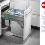 Häcker Müllsystem Abfallsystem Kche Hailo Abfallsammler 215 L Ta Swing Küche Wohnzimmer Häcker Müllsystem