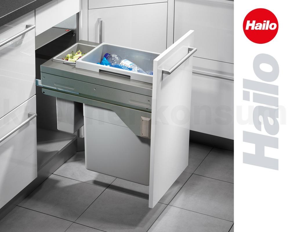 Full Size of Häcker Müllsystem Abfallsystem Kche Hailo Abfallsammler 215 L Ta Swing Küche Wohnzimmer Häcker Müllsystem