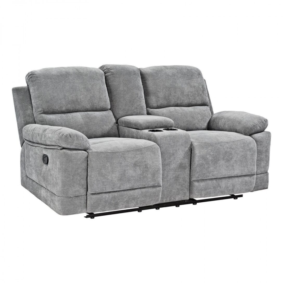 Large Size of Kinosessel 2er Microfaser Doppelsessel Zweisitzer Relaxsessel Fernsehsessel Sofa Grau Wohnzimmer Kinosessel 2er Microfaser