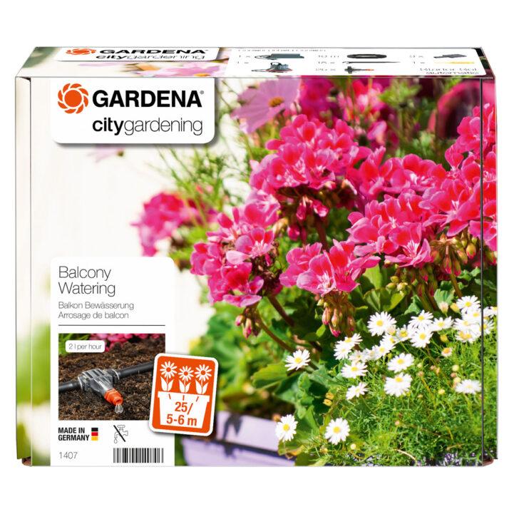 Medium Size of Bewässerung Balkon Gardena Automatische Blumenkastenbewsserung 43621 M Bei Hellweg Bewässerungssysteme Garten Test Automatisch Bewässerungssystem Wohnzimmer Bewässerung Balkon
