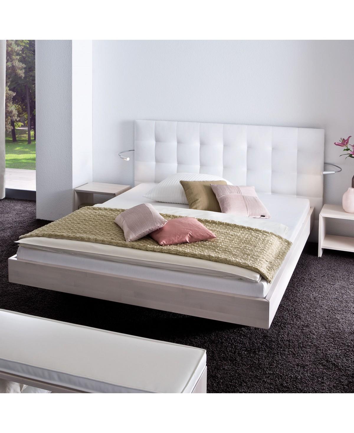 Full Size of Komplettbett 180x220 Hasena Wood Line Bett Wandpaneel Sogno L Fe Vilo Buche Wei Wohnzimmer Komplettbett 180x220