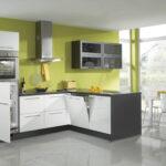 Moderne Kche Forma 644 Nobilia Holz Lackiert Mit Griffen Einbauküche Küche Wohnzimmer Nobilia Alba