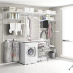 Elfa Regalsystem Hauswirtschaftsraum Metall Bett Regal Weiß Regale Keller Für Wohnzimmer Regalsystem Keller Metall