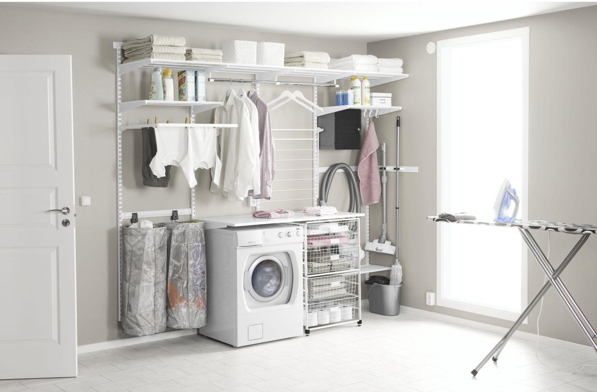 Full Size of Elfa Regalsystem Hauswirtschaftsraum Metall Bett Regal Weiß Regale Keller Für Wohnzimmer Regalsystem Keller Metall