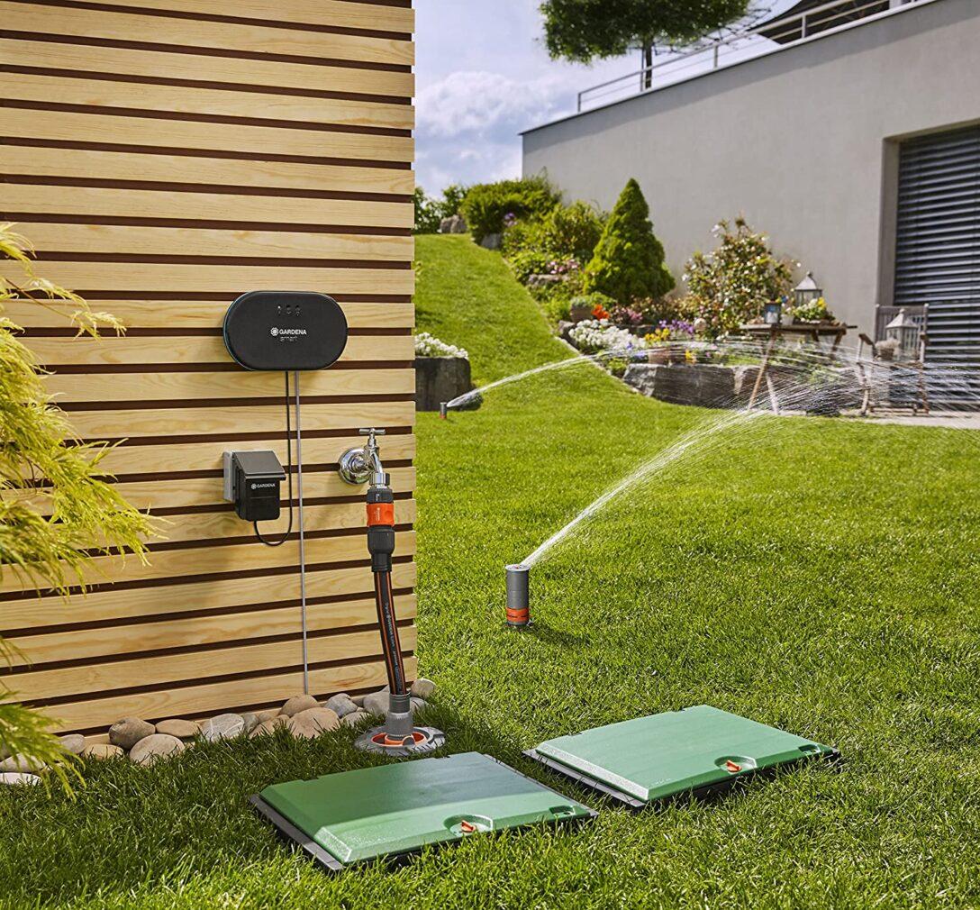 Large Size of Bewässerung Balkon Automatische Bewsserung Was Kann Das Gardena Smart System 2020 Garten Automatisch Bewässerungssysteme Test Bewässerungssystem Wohnzimmer Bewässerung Balkon