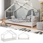Betten 100x200 Bett Weiß Wohnzimmer Hausbett 100x200