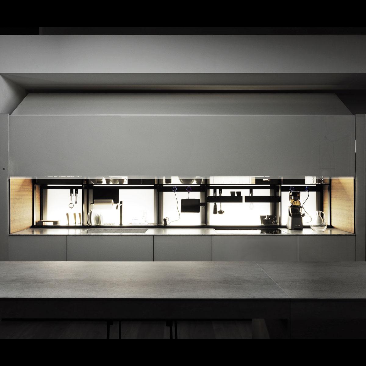 Full Size of Valcucine Küchen Abverkauf Moderne Italienische Designer Einbaukchen Regal Inselküche Bad Wohnzimmer Valcucine Küchen Abverkauf