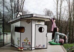 Spielhaus Ausstellungsstück