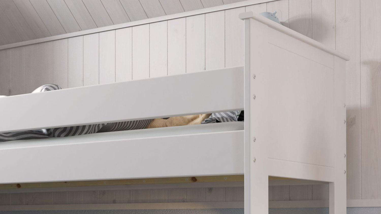 Full Size of Nobilia Alba Etagenbett Kinderbett Hochbett Mdf Wei 90x200 Cm Küche Einbauküche Wohnzimmer Nobilia Alba