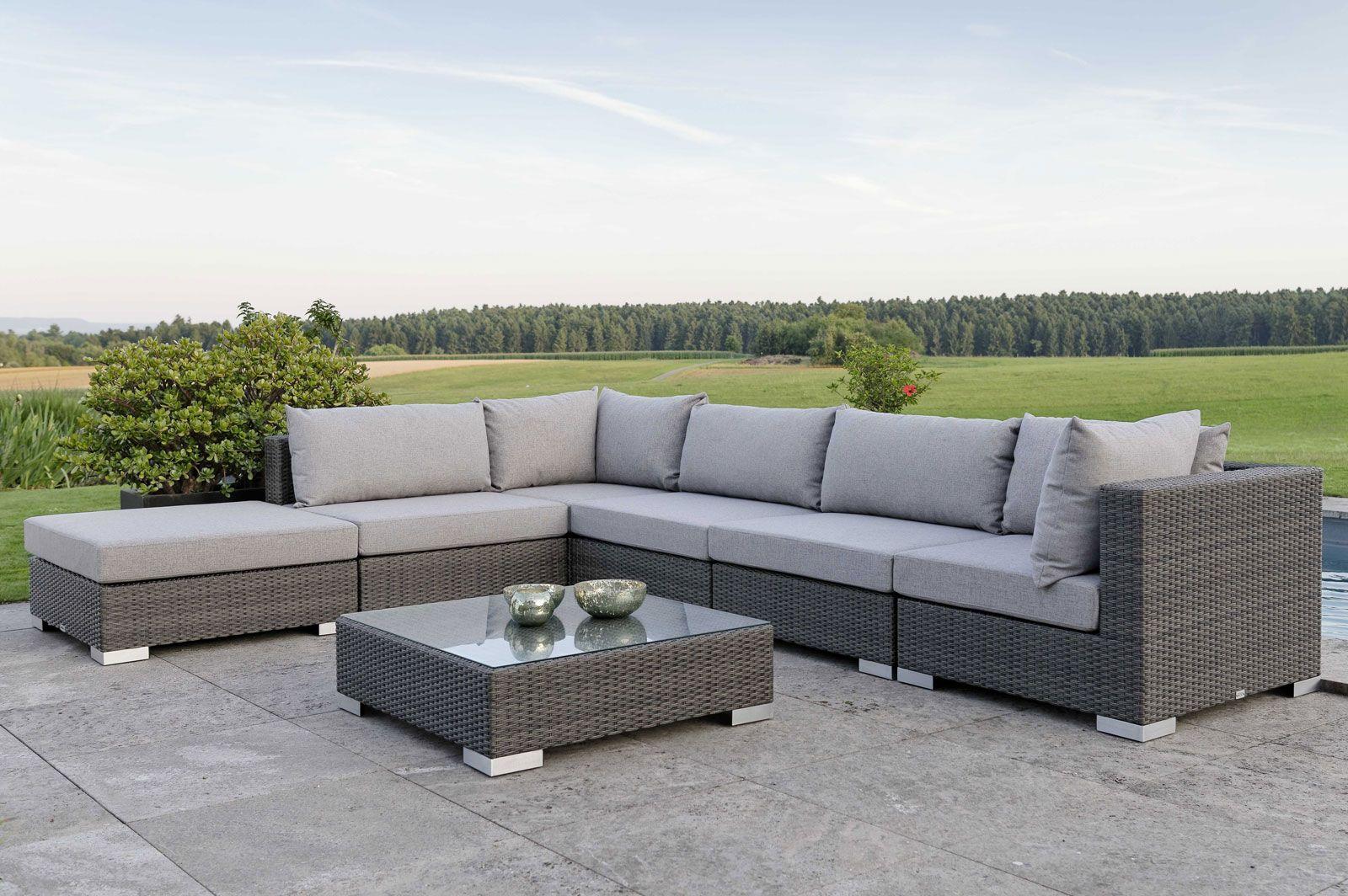 Full Size of Stern Jubi Loungegruppe Grau Meliert 7 Tlg Gartenmoebelde Wohnzimmer Stern Jubi Loungeecke 5 Teilig Geflecht