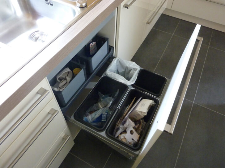 Medium Size of Abfalleimer Auszug Kche Musbacher Esstisch Mit Roma 160 Müllsystem Küche Wohnzimmer Häcker Müllsystem