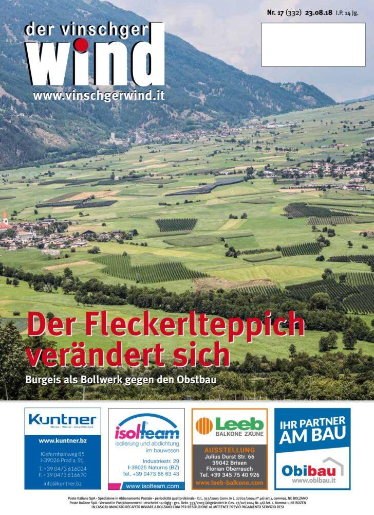 Medium Size of Schlafstudio Helm Preise Zeitung Vinschgerwind 17 18 Vom 23082018 Vinschgau Sdtirol By Wohnzimmer Schlafstudio Helm